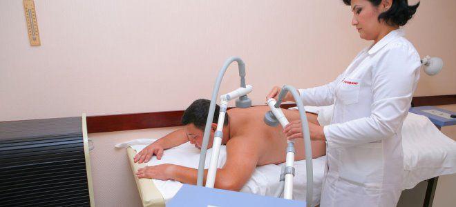 УВЧ-терапия при изгибе желчного