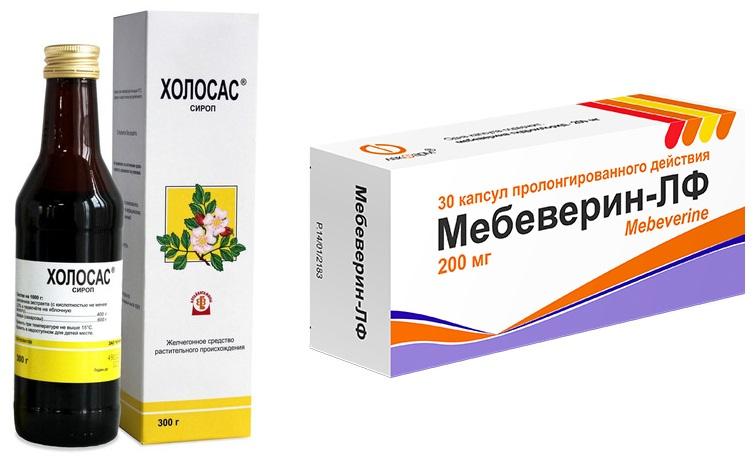 Пример лекарств для лечения воспаления желчного пузыря