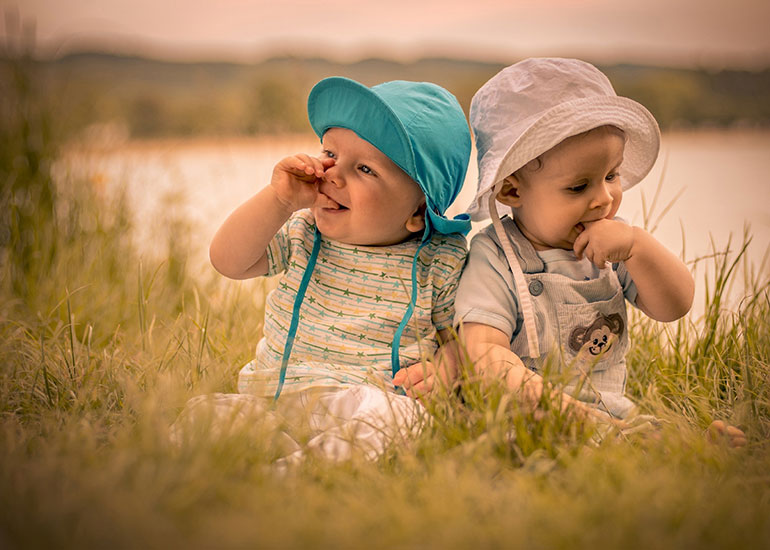 Маленькие дети