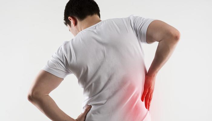 Боль справа сзади со спины