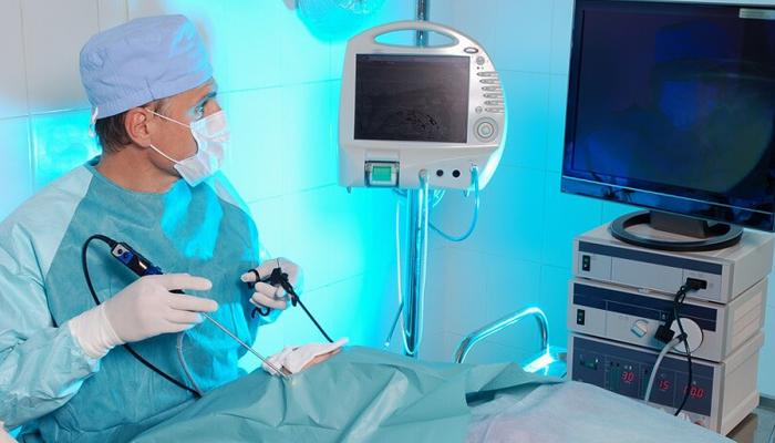 Проведение эндоскопической операции