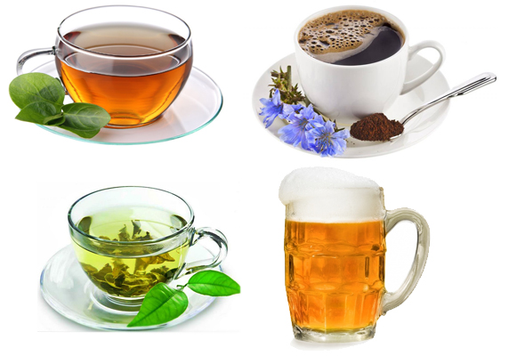 Чай, кофе и пиво