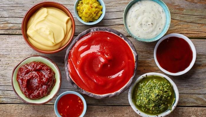 Овощные и сметанные соусы