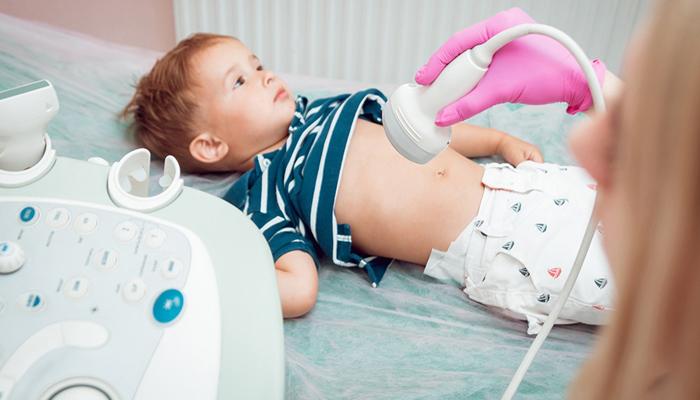 Проведение ультразвукового исследования ребенку