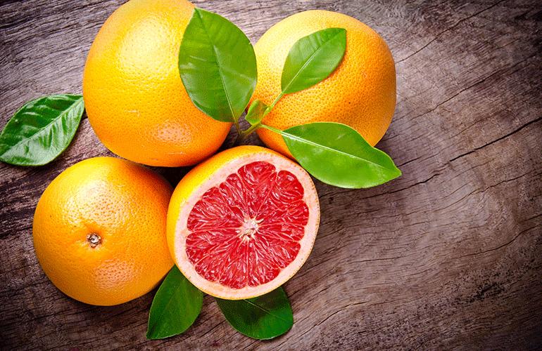 Грейпфрут с веточками