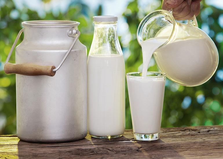 Емкости с молоком
