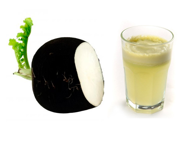 Черная редька сок со медом