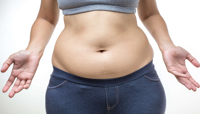 Большой живот после родов
